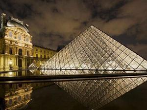 Louvre Museum Paris Stock Photos 33209